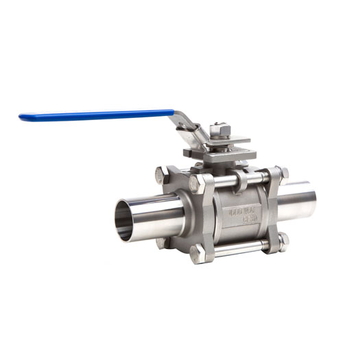 3PC High Purity Clean Ball Valves